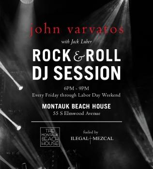 FRIDAYS – JOHN VARVATOS & ILEGAL ROCK & ROLL SESSIONS